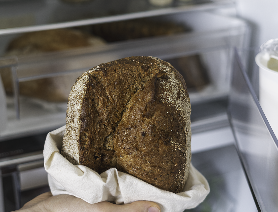 duona šaldytuve kaip laikyti duoną