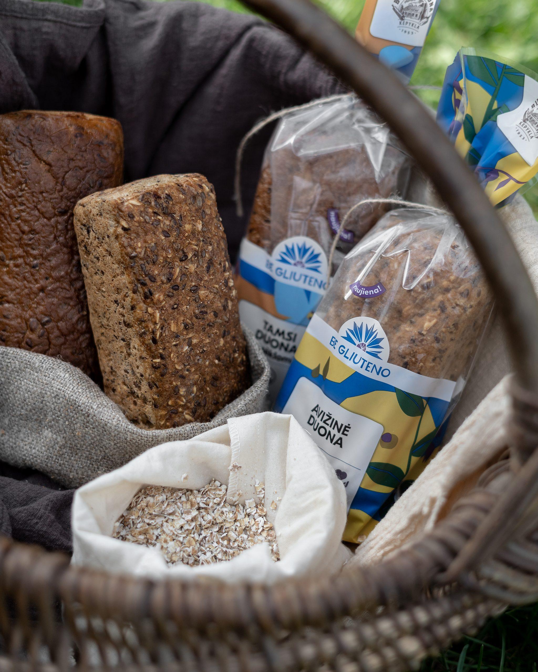 Be Gliuteno Avižinė Biržų duona