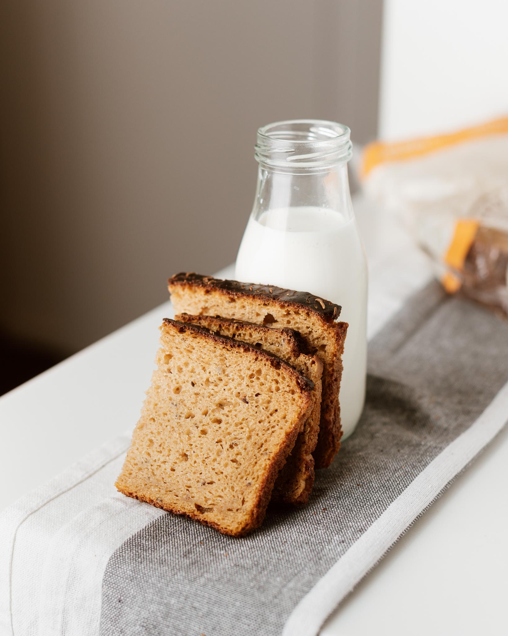 Naminė be mielių duona