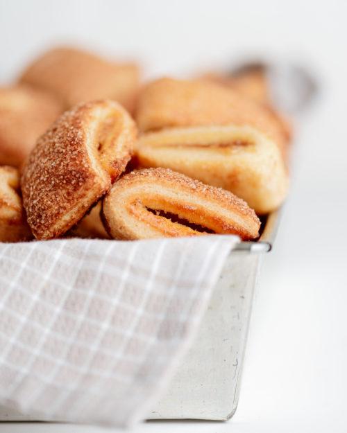 Sausainiai su obuolių džemu