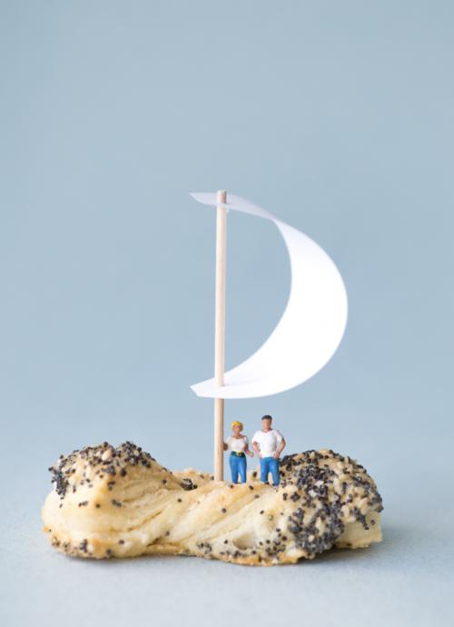 Sausainiai kaspinėlis BIRŽŲ DUONA