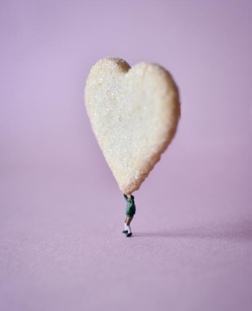 Širdelė sausainis Biržų duona