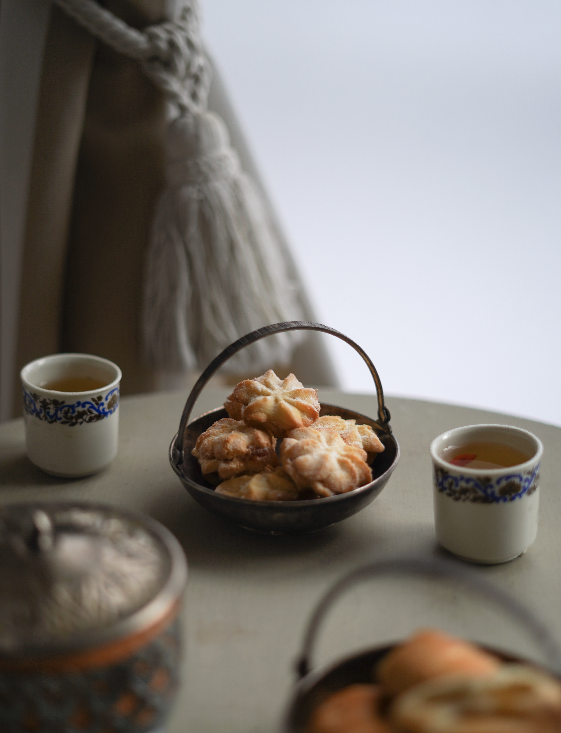 Sausainiai su mandarinu idaru