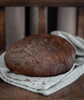 Šeimininkės tamsi Biržų duona
