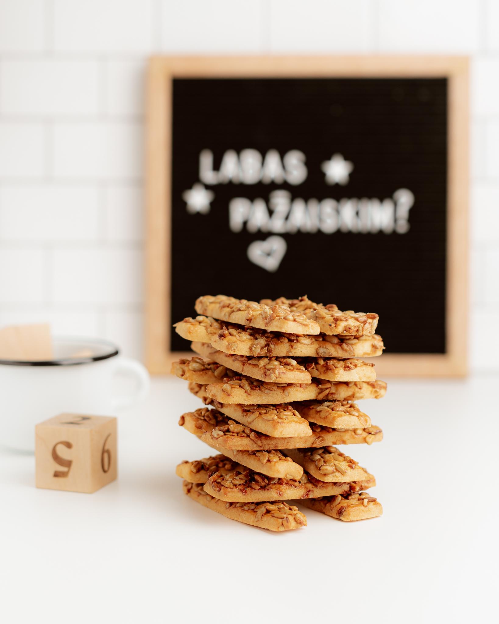 sausainiai Saulėgrąža